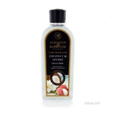 Ashleigh & Burwood COCONUT & LYCHEE Scented Fragrance Lamp Oil 500ml Refill Bottle